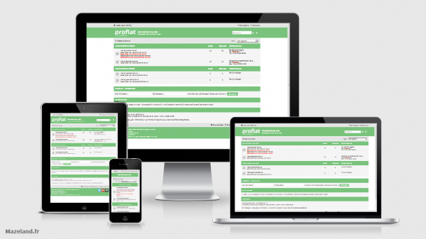 style proflat-green 1.2.9 pour phpBB 3.2.8