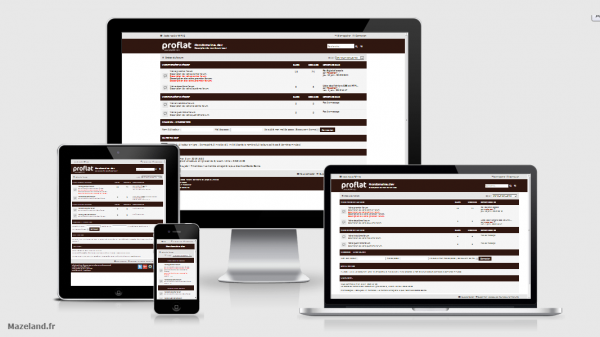 style proflat chicory coffee 1.2.6 pour phpBB 3.2.5